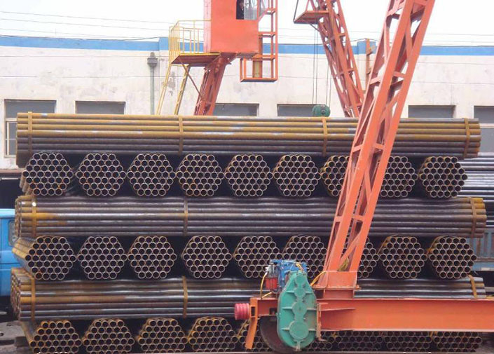 API 5L PSLI ERW Welded Steel Tube , ST37.0 / ST35.8 / ST37.2 Weld Pipe For Coal Gas